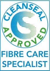 Logo for Cleanseal Approved Fibre Care Specialist