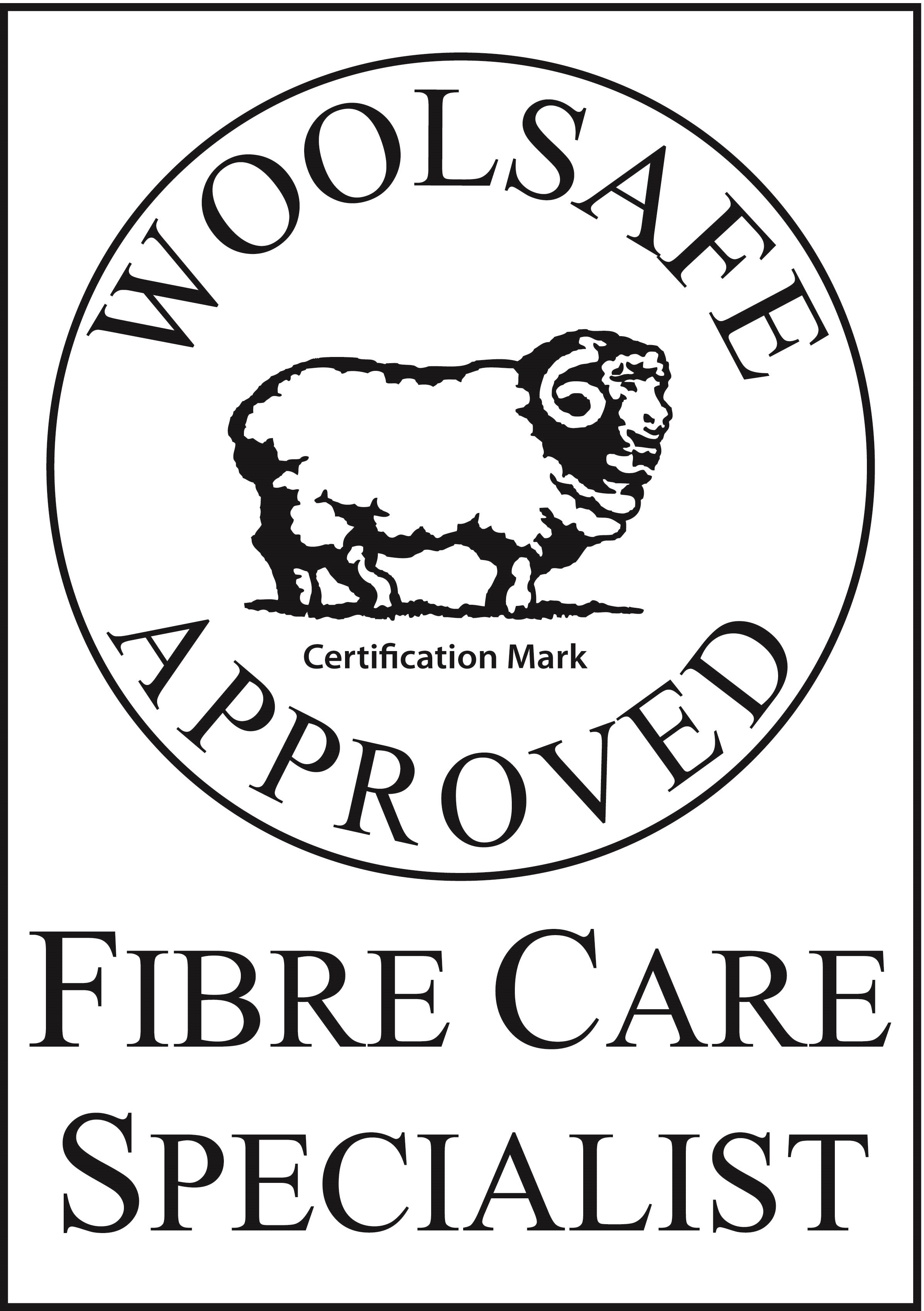 Woolsafe Aproved Fibre Care Specialist